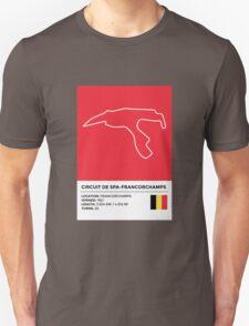 Circuit de Spa-Francorchamps - v2 T-Shirt