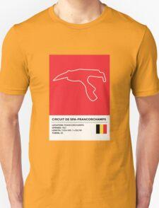 Circuit de Spa-Francorchamps - v2 Unisex T-Shirt