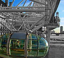 London Eye-Pod by Al Bourassa