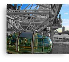 London Eye-Pod Canvas Print