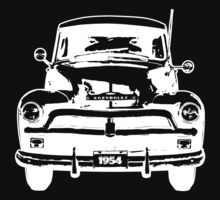 1954 Chevy Truck - White by OldDawg