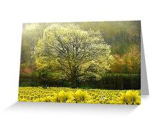 Spring Dream Fantasy Greeting Card
