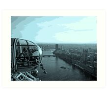 Highest Point In London Art Print
