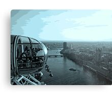 Highest Point In London Metal Print