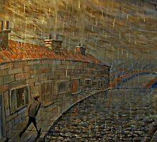 it were always raining  by Calgacus