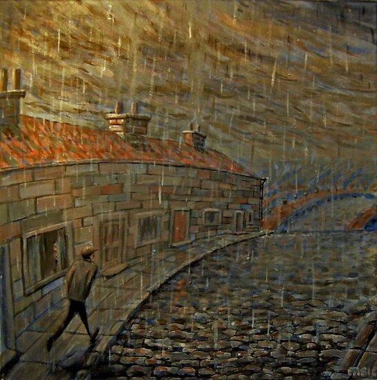 it were always raining  by Matthew Scotland