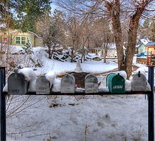 Country Mailboxes  by Diana Graves Photography