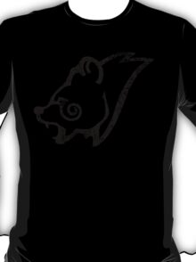 Skyrim Distressed Windhelm Logo - B&W T-Shirt