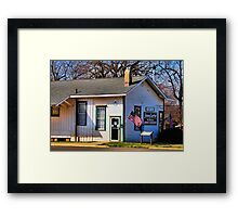 Jimmy Carter's Campaign Headquarters Framed Print