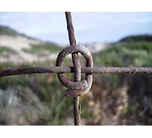 The Fence - Abstract  Photographic Print