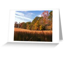 """A Peaceful Fall Day in Georgia""... prints and products Greeting Card"