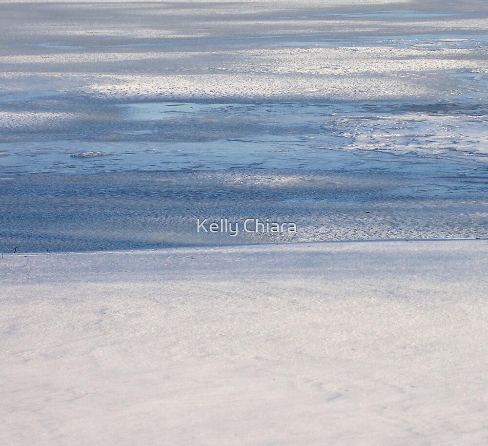 Steel Blue Ice by Kelly Chiara