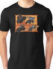 Mario Kart: fury road  Unisex T-Shirt