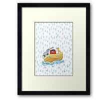 See Saw Over The Waves Framed Print
