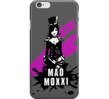 Mad Moxxi (Colored BG) iPhone Case/Skin