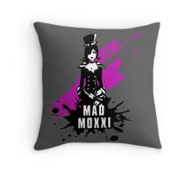 Mad Moxxi (Colored BG) Throw Pillow