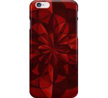 Ruby Radial Design iPhone Case/Skin