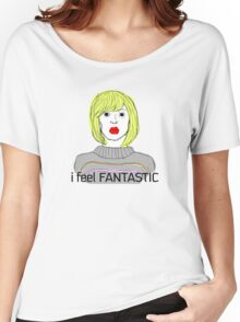 I Feel Fantastic (Hey Hey Hey) - Tara the Android Women's Relaxed Fit T-Shirt
