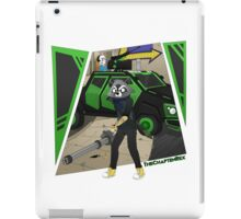 TheChaptenRex AKA The Mini-Gun Man iPad Case/Skin