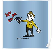 set phasers to gangsta  Poster