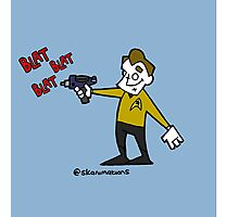 set phasers to gangsta  Photographic Print