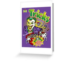 Tricks Greeting Card