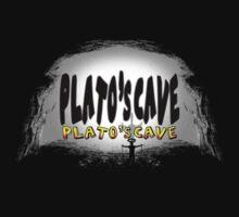 Plato's cave Kids Tee