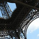 Underneath the Eiffel Tower by Sherry Freeman