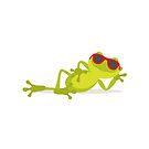 Lazy frog by Alejandro Durán Fuentes