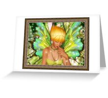 A Faerie's Amusement Greeting Card