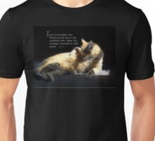 Overweight cats-saying Unisex T-Shirt