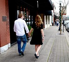 Kate and Nathan walk by JulieSaunders