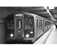 Metro Red Line  Photographic Print