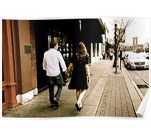 Kate and Nathan walk Poster