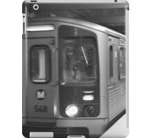 Metro Red Line  iPad Case/Skin