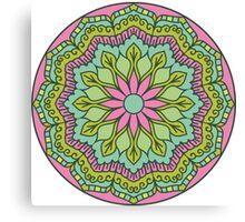 Mandala - Circle Ethnic Ornament Canvas Print