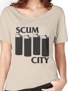 Scum City Women's Relaxed Fit T-Shirt