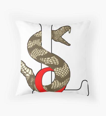 Sons Of Liberty with Gadsden Rattler Throw Pillow
