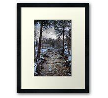 After the Winter Storm Framed Print