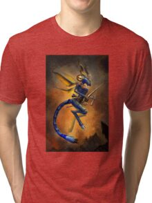 Dragonfly Devil Tri-blend T-Shirt