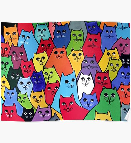 The Cat Pack Poster