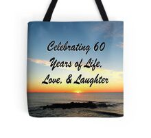 JOYFUL 60TH CELEBRATION Tote Bag