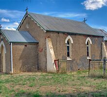 Tangmangaroo Anglican Church , NSW, Australia by Adrian Paul