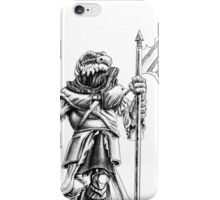 Ridley, the Dragonborn Fighter iPhone Case/Skin