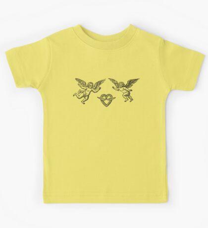 angels with crown Kids Tee