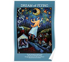 """""""Dream of Flying"""" Poster, Card and Notebook Poster"""