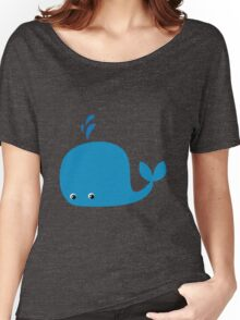Cute Little Whale Women's Relaxed Fit T-Shirt