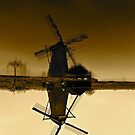 Freezing Windmill by Tenee Attoh