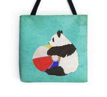 Panda Summer Fun Tote Bag
