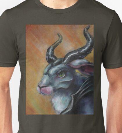 Malefibunny - Jackalope Priestess Unisex T-Shirt